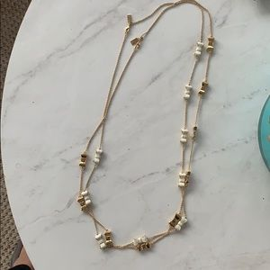 Kate spade bow necklace!
